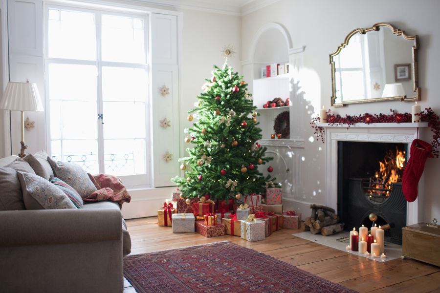 christmas decorating home with tree - Decorating Your House For Christmas
