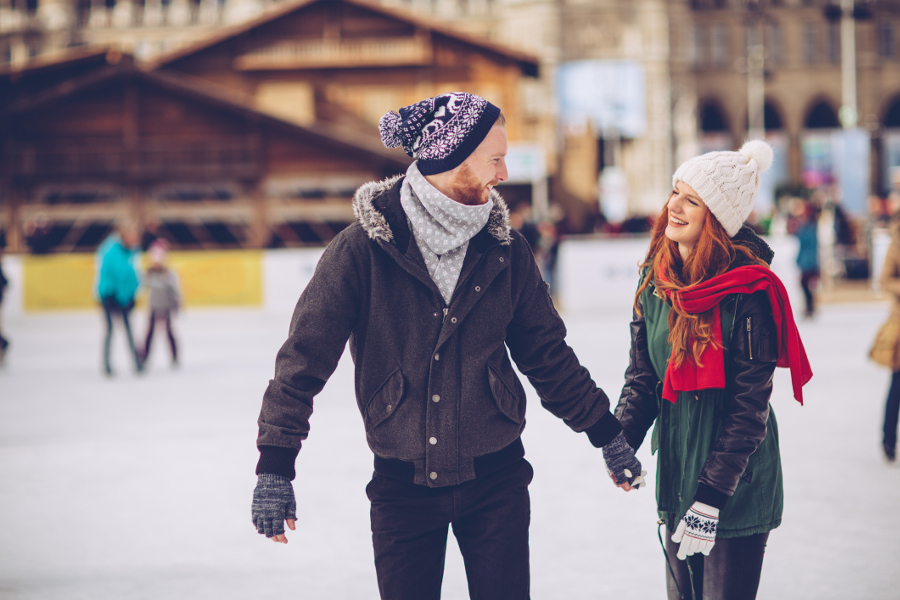 valentine's date ideas ice skating